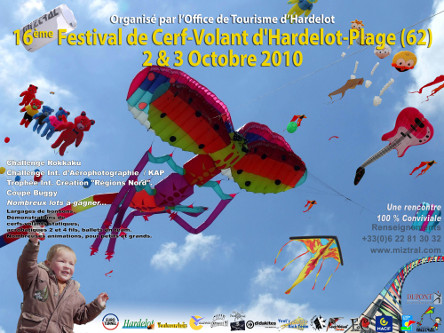 Affiche du 16ème festival d'Hardelot