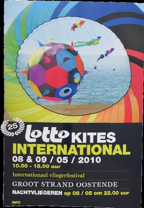 Affiche du festival de Ostande 2010