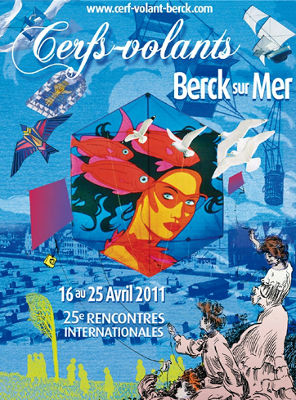 Affiche des Rencontres Internationales de Cerfs-Volants