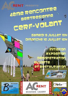 Affiche du festival de Bertry