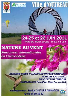 Affiche du festival de Outreau