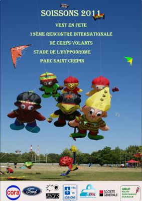Affiche du festival de Soissons