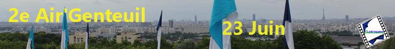 2e Air'Genteuil à  la butte d'Orgemont à Argenteuil (95) le 23 Juin