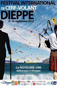 Affiche du festival de Dieppe