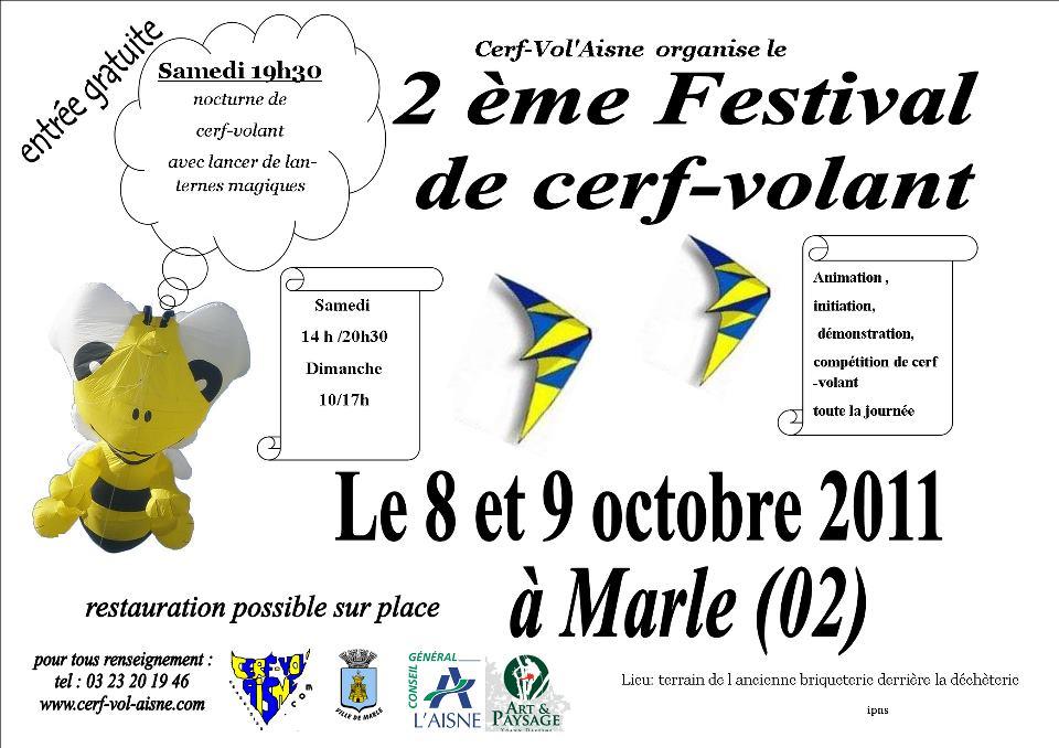 Affiche du festival de Marles